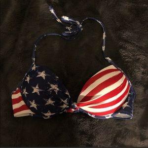 American flag bikini top 🛍